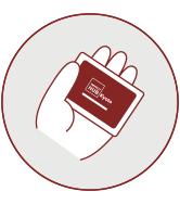 入出時にカードをかざしてください-If you are already a member,please touch your card upon entrance and exit.